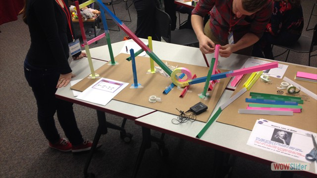 Paper Roller Coasters PD Training
